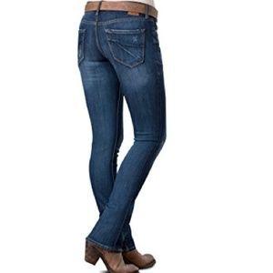 NWOT Dear John Hybrid Skinny Bootcut Jeans